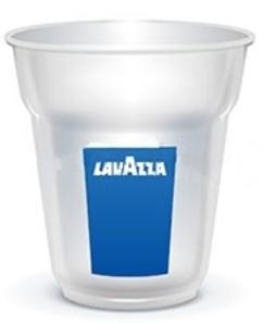 Стакан пластиковый 165 мл FLO «Lavazza» (упаковка)