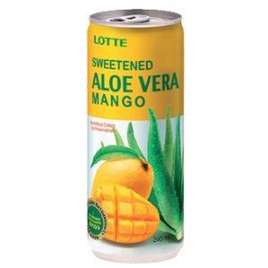 Напиток Lotte Алое вера и Манго 0,24л (упаковка)