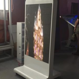 Стойка со светодиодным экраном
