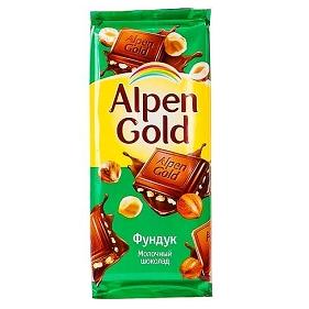 Шоколад «Алпен ГОЛД» в ассортименте (коробка)