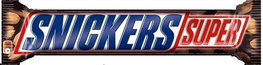 Шоколадный батончик SNICKERS Супер (коробка)