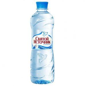 Вода «Святой Источник» без газа (упаковка)