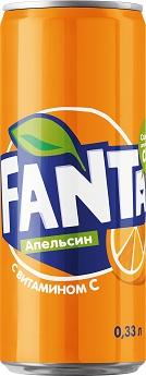 Fanta 0,33л (упаковка)
