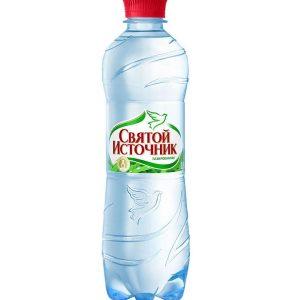 Вода «Святой Источник» с газом (упаковка)