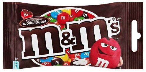 Драже m&m's «Шоколад» (коробка)