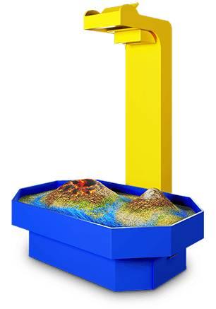 Интерактивная песочница-стол Алмаз