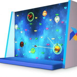 Интерактивный скалодром «Скала» (к полу)