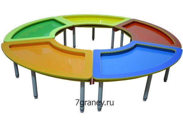 Стол для детского творчества «Змейка»