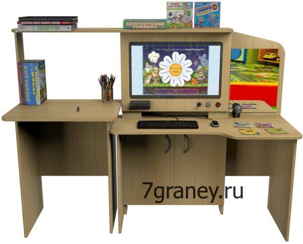 Мультимедийный образовательный интерактивный развивающий логопедический стол Logo 15