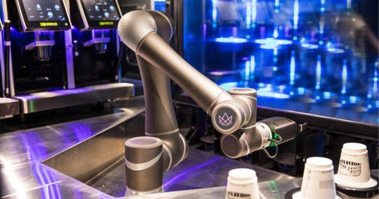 Роботизированная кофейная машина заменяет бариста