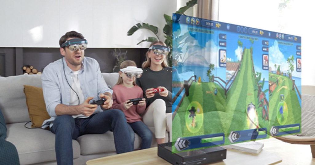 Пт Dec 25 ' 20 анонс от Dream Glass 4K-первый в мире портативный и частный AR HMD