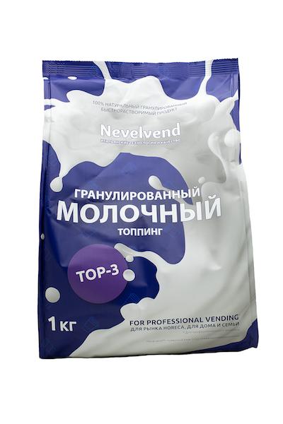 """Гранулированный молочный топпинг """"NEVELVEND®""""  ТОP-3"""