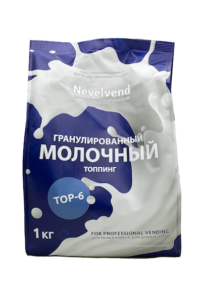 """Гранулированный молочный составной топпинг """"NEVELVEND®""""  ТОP-6"""